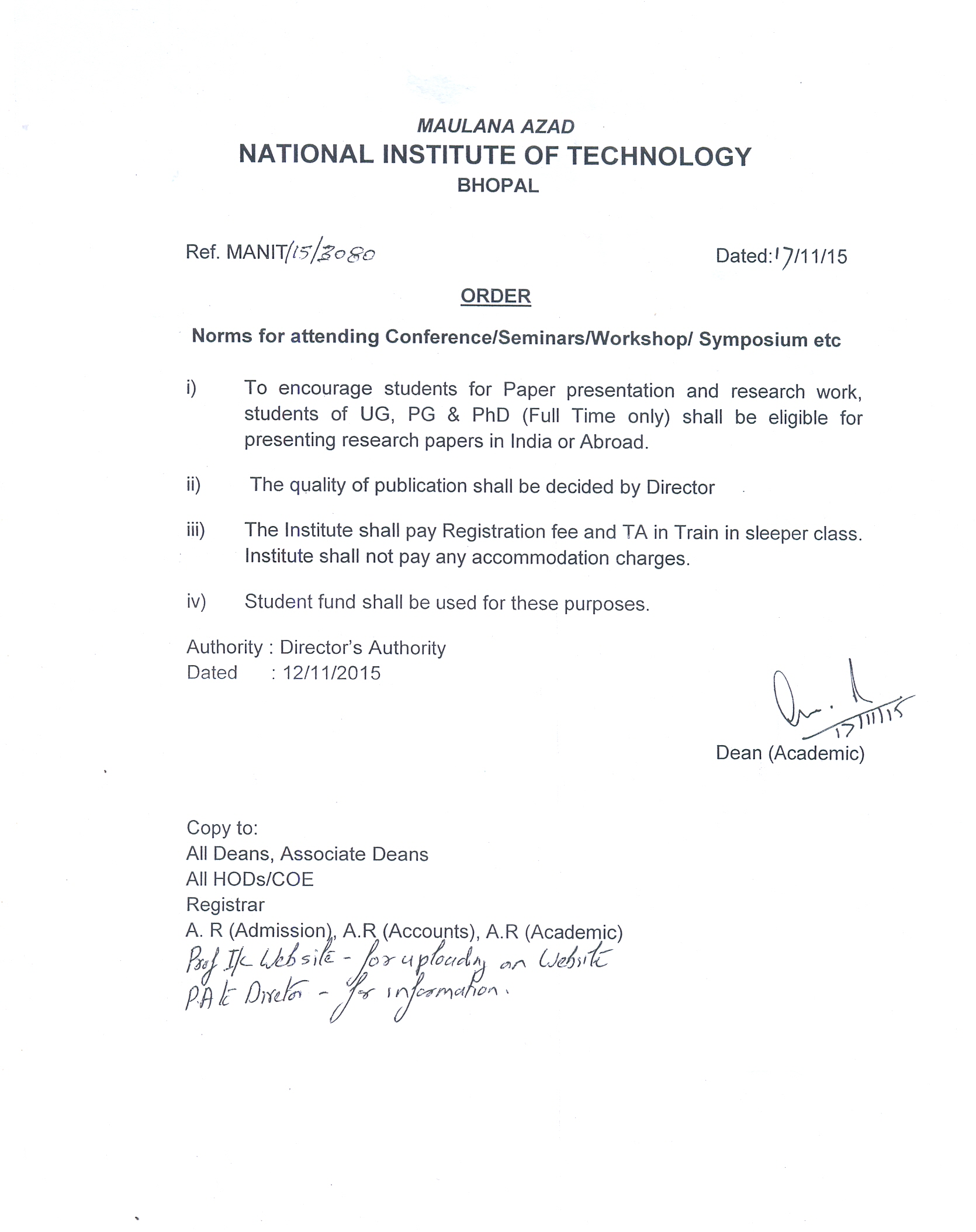 Student | Maulana Azad National Institute of Technology ,Government